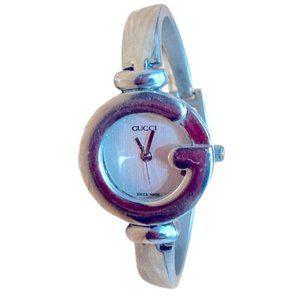 Authentic GUCCI Vintage Silvertone watch